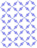 Scroll pattern background. Pattern background with blue scroll Stock Image