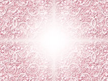 Scroll Pattern. Digitally created pattern of intricate scrolling shapes Royalty Free Stock Photography