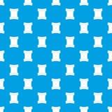 Scroll pattern seamless blue Stock Photo
