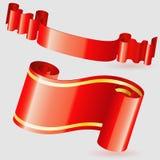 Scroll Ribbon Royalty Free Stock Image