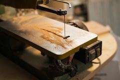A scroll saw Stock Image