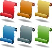 Scroll Set Stock Photos