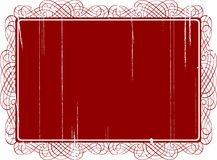 Scroll style background. Grungey scroll style illustrated background Royalty Free Stock Photos