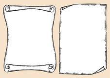 Scrolls Stock Image