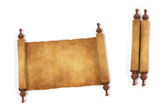 Scrolls. Realistic 3d render of scrolls Stock Photos