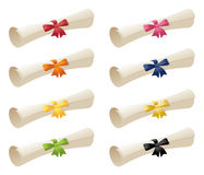Scrolls & Ribbons Stock Images