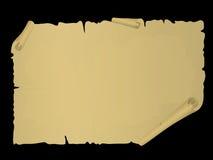 scrollvektor Royaltyfria Bilder