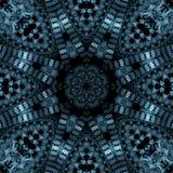 Scrollwork blu di titanio royalty illustrazione gratis