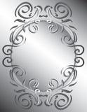 scrollwork ramowy dekoracyjny Zdjęcie Stock
