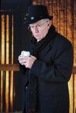Scrooge и его деньги Стоковая Фотография
