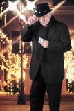 Scrooge на моле Стоковое Фото