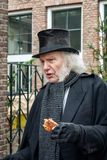 Scrooge one of the characters from the famous books of Dickens d royalty free stock photo