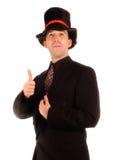 Scrooge positivo Immagini Stock Libere da Diritti
