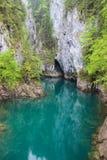 Scropoasa Mountain Lake stock photo