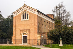 Scrovegni Chapel. The famous Scrovegni Chapel in Padua Royalty Free Stock Photo
