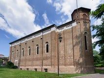 Scrovegni kapell i Padova, Italien Arkivbild