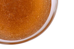 Scrub oil in a bowl. Royalty Free Stock Images
