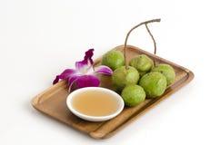 Free Scrub Terminalia Bellirica Thailand And Honey Herb With Medicinal Properties. Stock Photos - 44236553