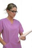 scrubs женщина молодым Стоковое Изображение