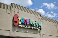 Scrubtastic Medical Uniforms Stock Photo