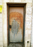 Scruffy back door Royalty Free Stock Image