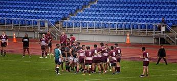 Scrum Rugby Union  Club Waitemata vs Waitakere City Stock Photo