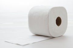 Scrunched acima do papel de tecido Imagens de Stock