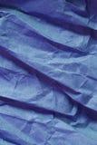 Scrunched Papier Stockfotografie