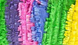 Scrunched vers le haut du papier de soie de soie Photo libre de droits