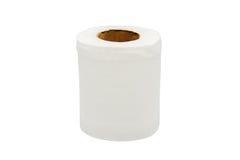 Scrunched vers le haut du papier de soie de soie Image libre de droits
