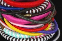 scrunchies волос стоковые изображения rf