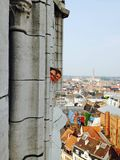 Scruter au-dessus de la ville Photo libre de droits