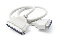 SCSI кабельного соединителя Стоковое Фото