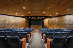 SCSU-Auditorium Lizenzfreies Stockfoto
