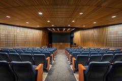 SCSU Auditorium Royalty Free Stock Photo