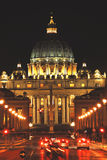 Sct. Peter's Cathedral in Rome Stock Image