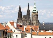 Sct Vitus Cathredal布拉格城堡 图库摄影