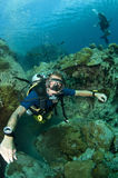 Scuba diver Royalty Free Stock Images
