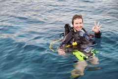 Free Scuba Diver Stock Photos - 23003693