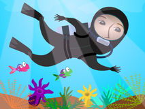 Scuba diver Royalty Free Stock Photos