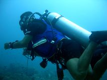 Scuba diver 5 Royalty Free Stock Photo