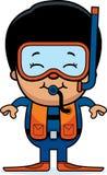 Scuba Diver Boy Royalty Free Stock Photo