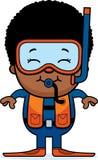 Scuba Diver Boy Royalty Free Stock Image
