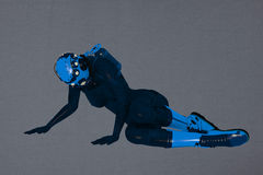 Scuba diver Royalty Free Stock Photography