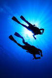 Scuba Divers Stock Photography