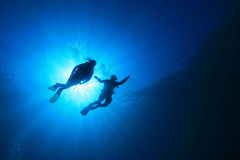 Scuba Diving royalty free stock images