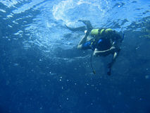 Scuba diving adventure Royalty Free Stock Photos
