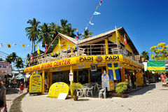 Scuba diving center in PP Island Royalty Free Stock Images