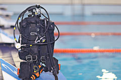 Scuba diving equipment Stock Photography