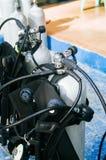 Scuba diving equipment, tank and regulators Stock Images